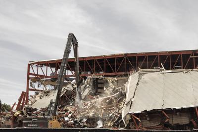 Coliseum Demolition