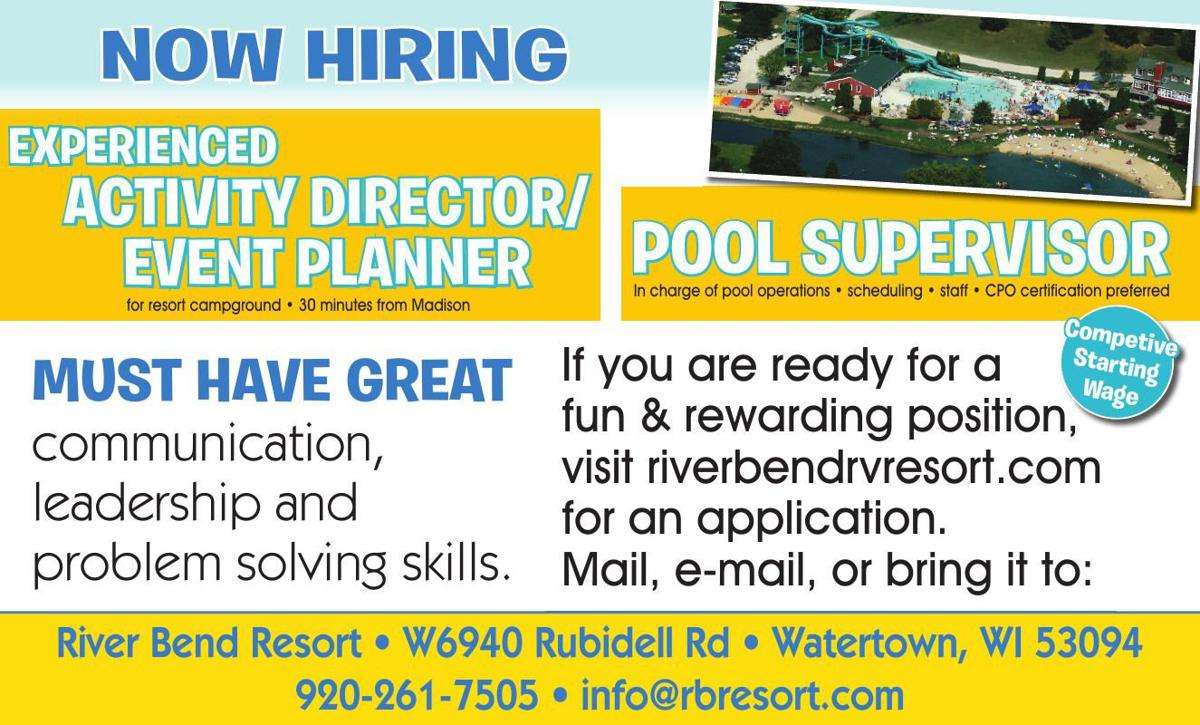 River Bend Resort NOW HIRING
