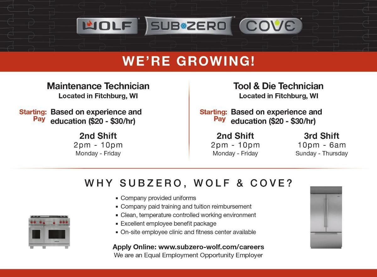 Help Wanted Wolf Sub Zero Cove