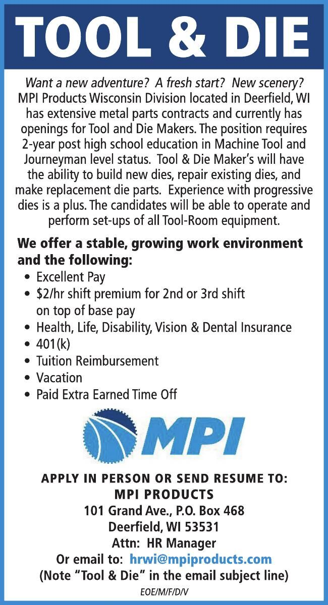 MPI Tool & Die