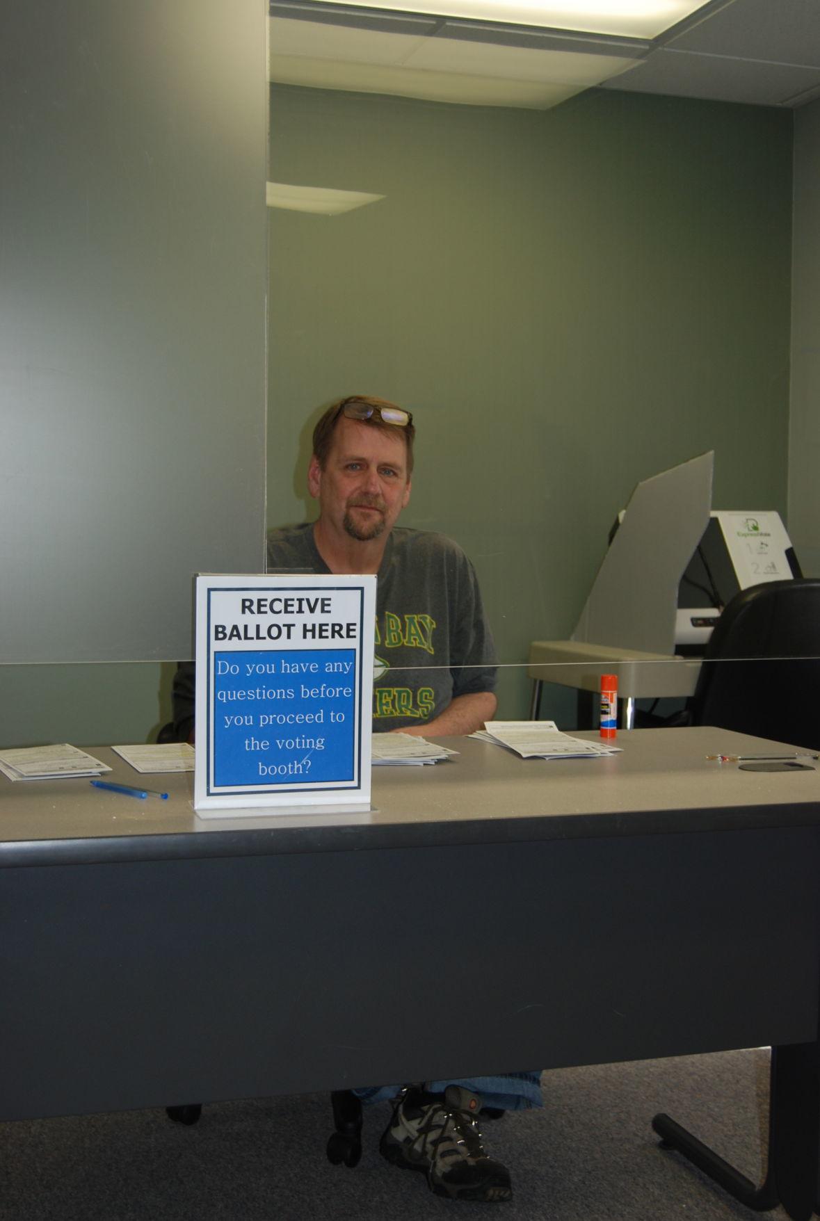 Harmony Town Clerk Tim Tollefson