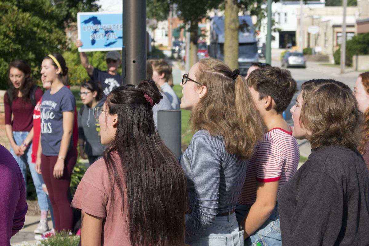 Lake Mills High School Climate Strike