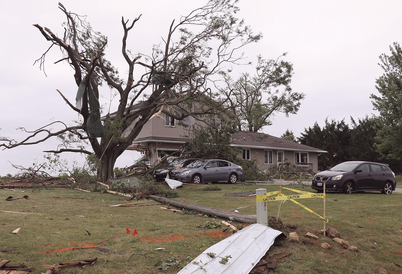 NWS reports tornado hits Concord