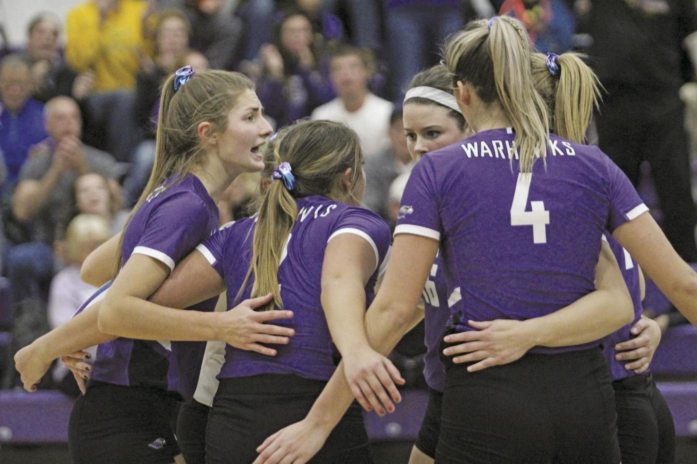 Warhawk Volleyball