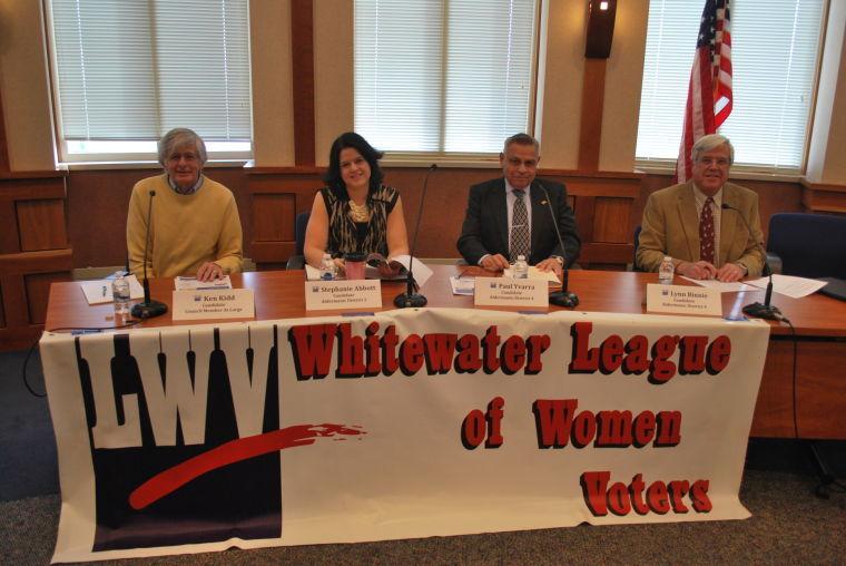whitewater council candidates talk issues news dailyunion com rh dailyunion com