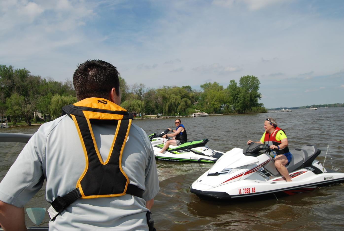 Boater safety warning