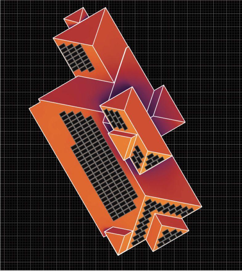 Solar heat layout