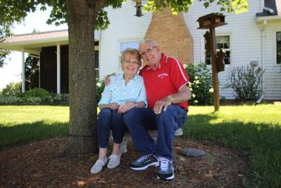 Bill and Edna Foelker, 65th anniversary