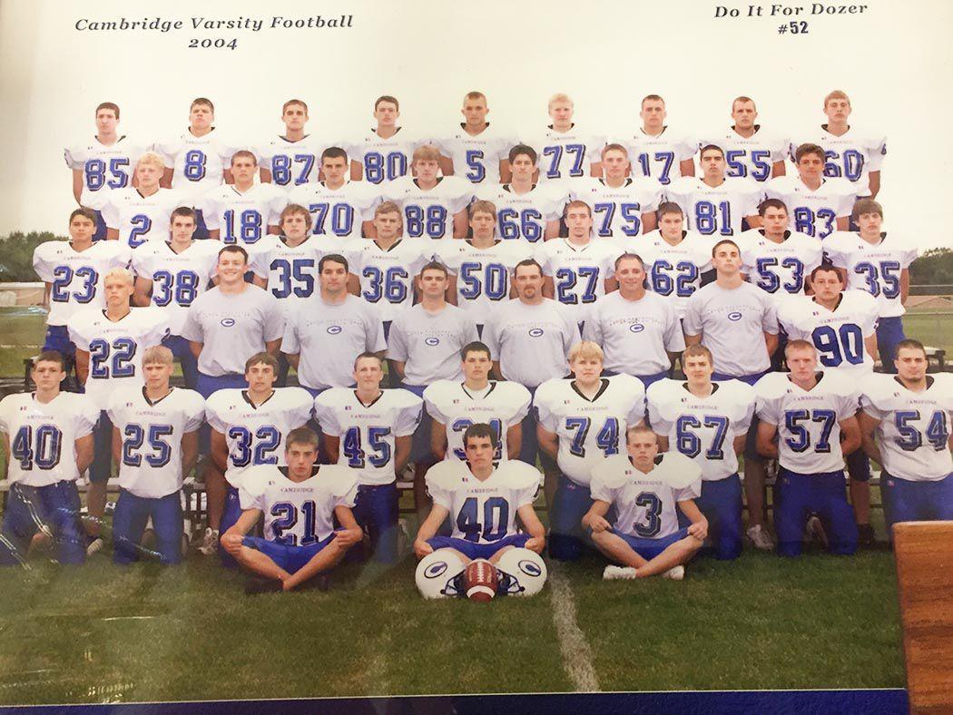 2004 Cambridge football team