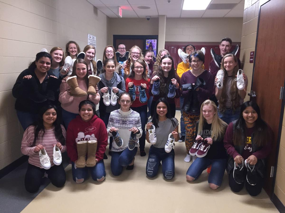 Interact collects 'soles for souls'