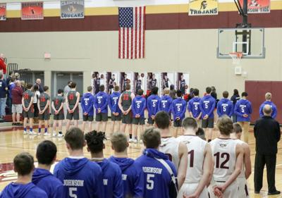 Fort Atkinson, Jefferson basketball teams honor Johnson