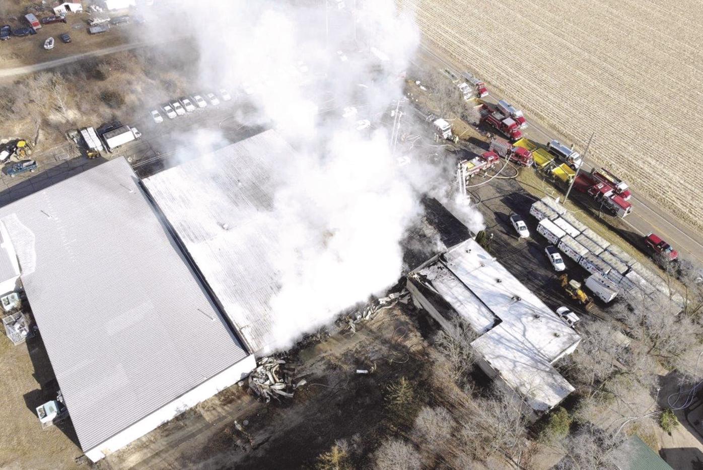 Helenville Fire 2