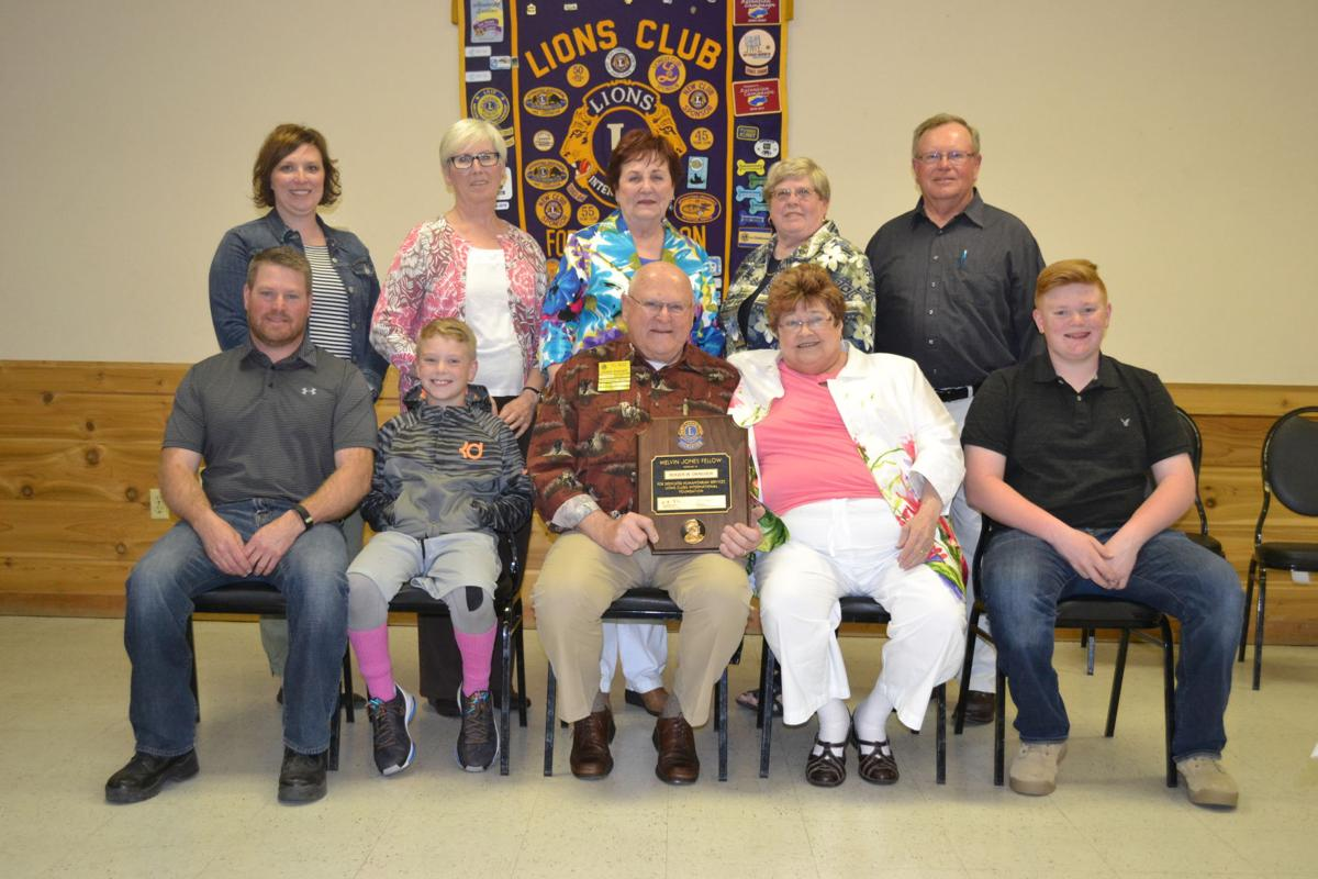 Fort Lions Club fetes Draeger for service | News