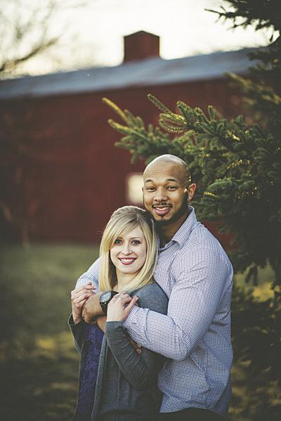 Lindsey Provenzano and Pierre Burgess