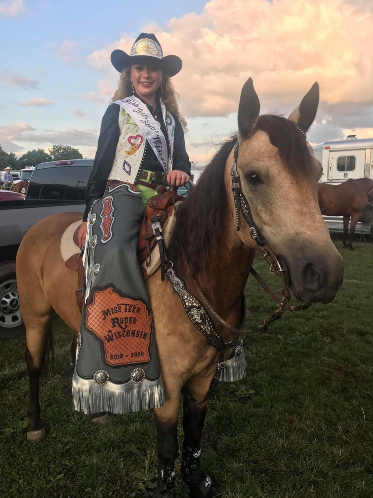 Miss Teen Rodeo Wisconsin 1