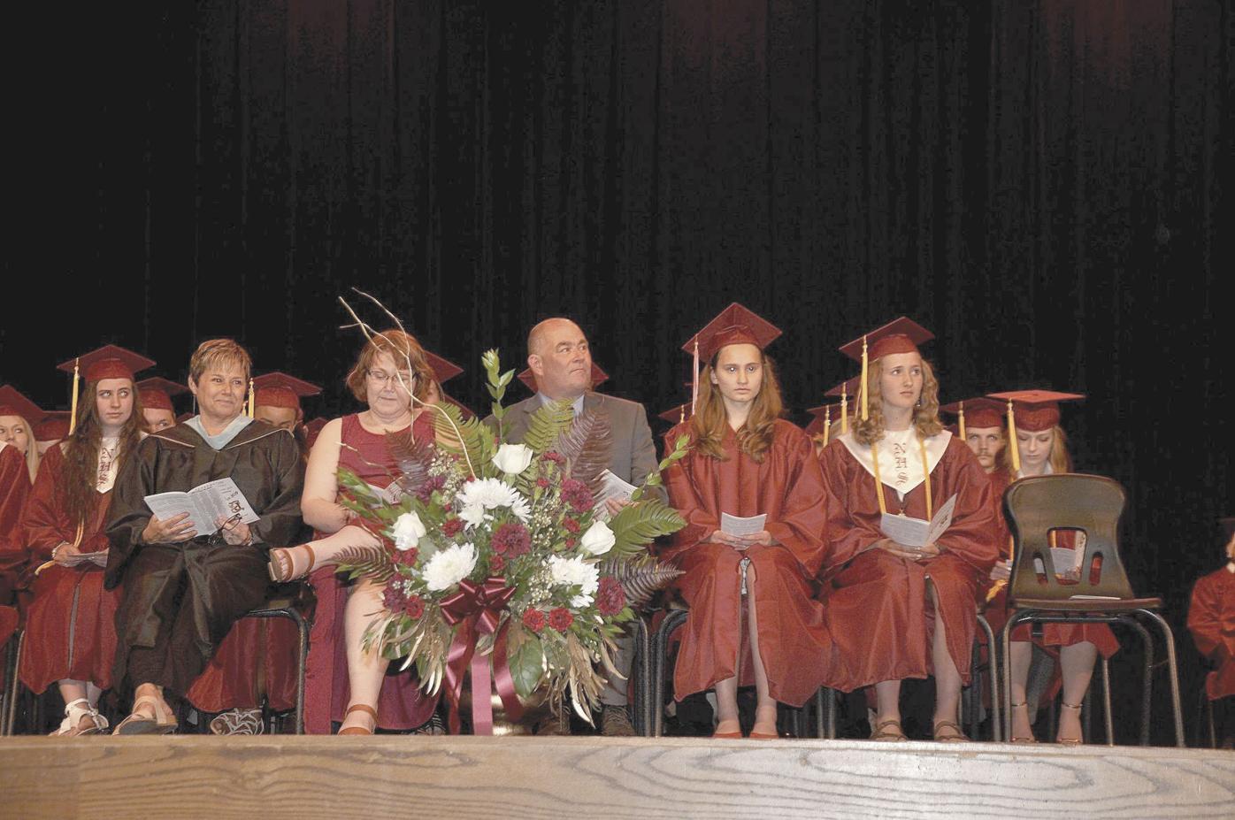 Rollefson at graduation 2019