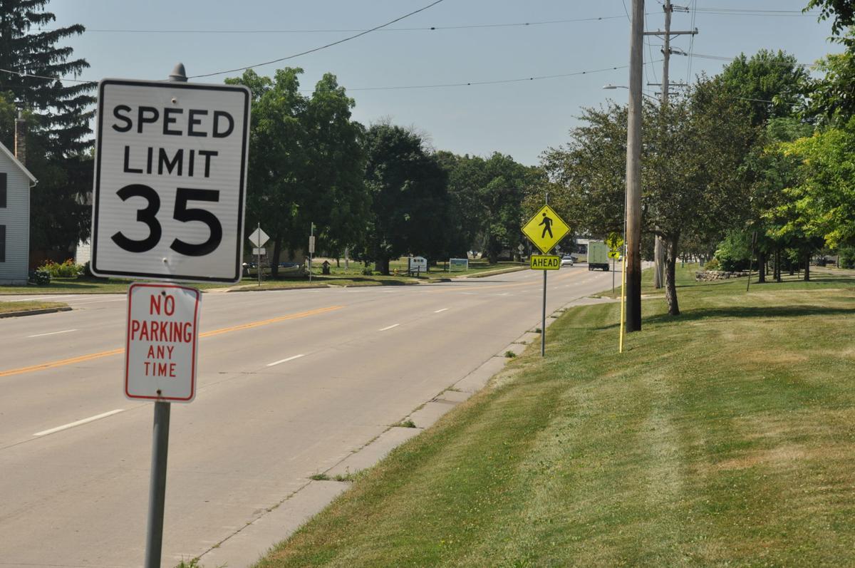 Janesville Avenue Speed Limit Change