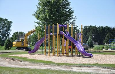 New West playground equipment
