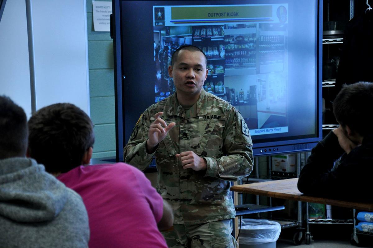 Army Chefs visit Pro-start