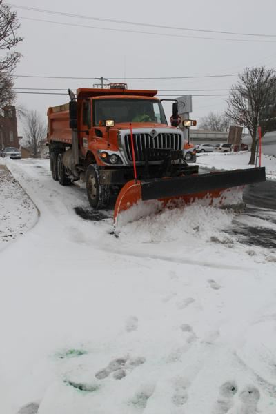 Plowing out