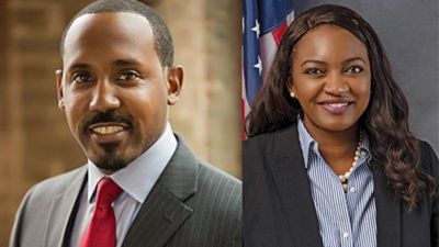 (Left) Rep. Ramon Alexander, D-Tallahassee; (Right) Rep. Fentrice Driskell, D-Tampa