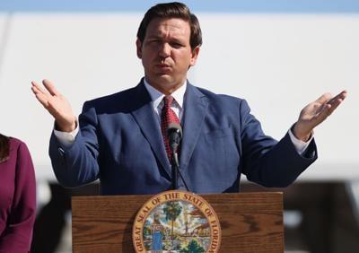 Governor Ron Desantis on voting law