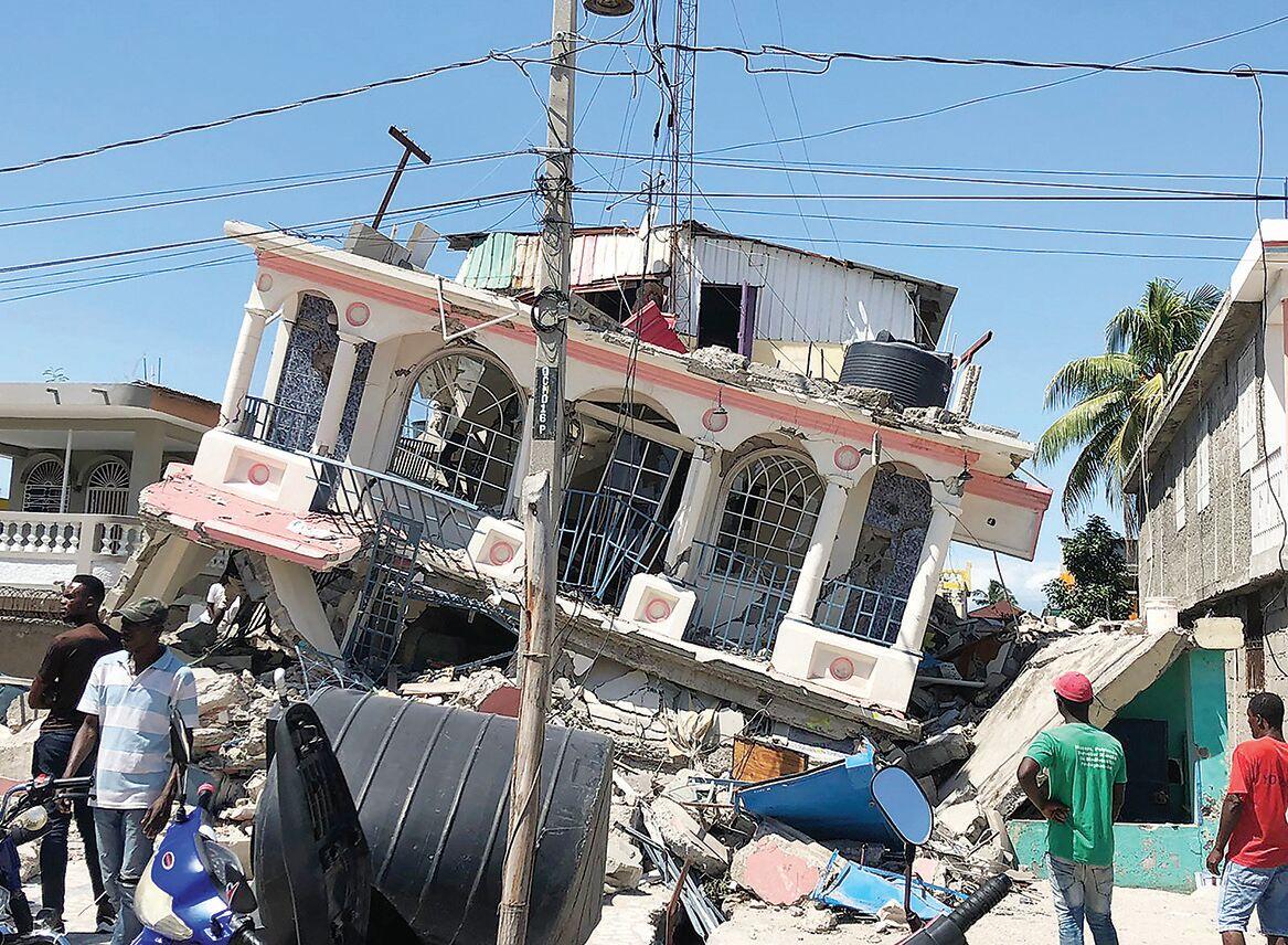 A Helping Hand for Haiti