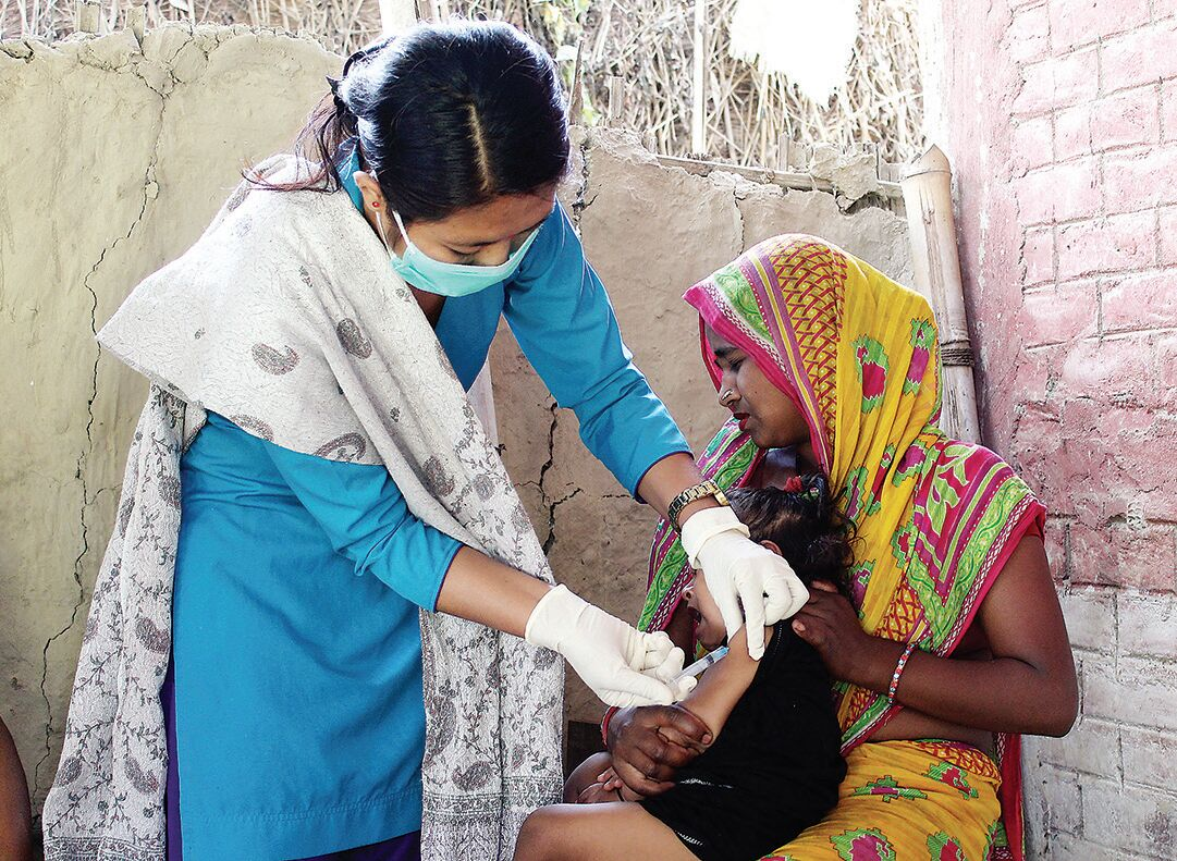 UNICEF and partners distributing vaccines in hundreds of countries