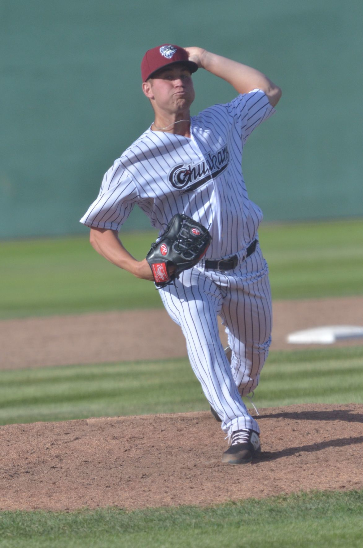 Austin's Derrick Adams with the Idaho Falls Chukars