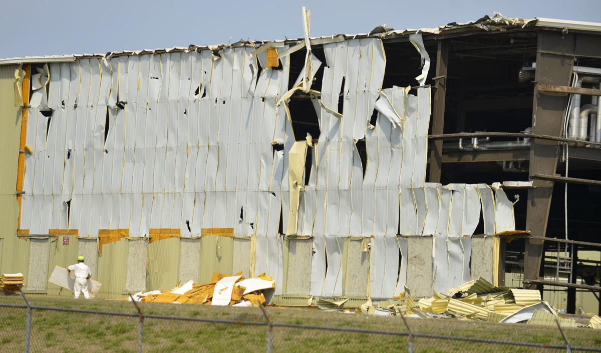 IP begins demolition of closed Courtland mill | Lawrence
