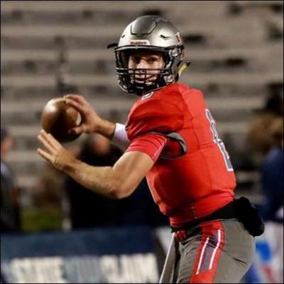 Thompson football QB Sawyer Pate
