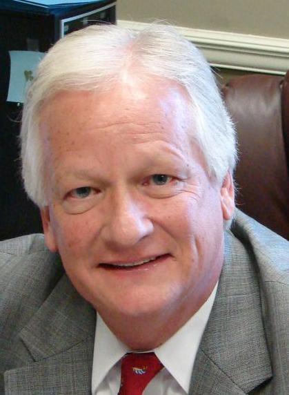 Joe Burke mug, Calhoun acting president