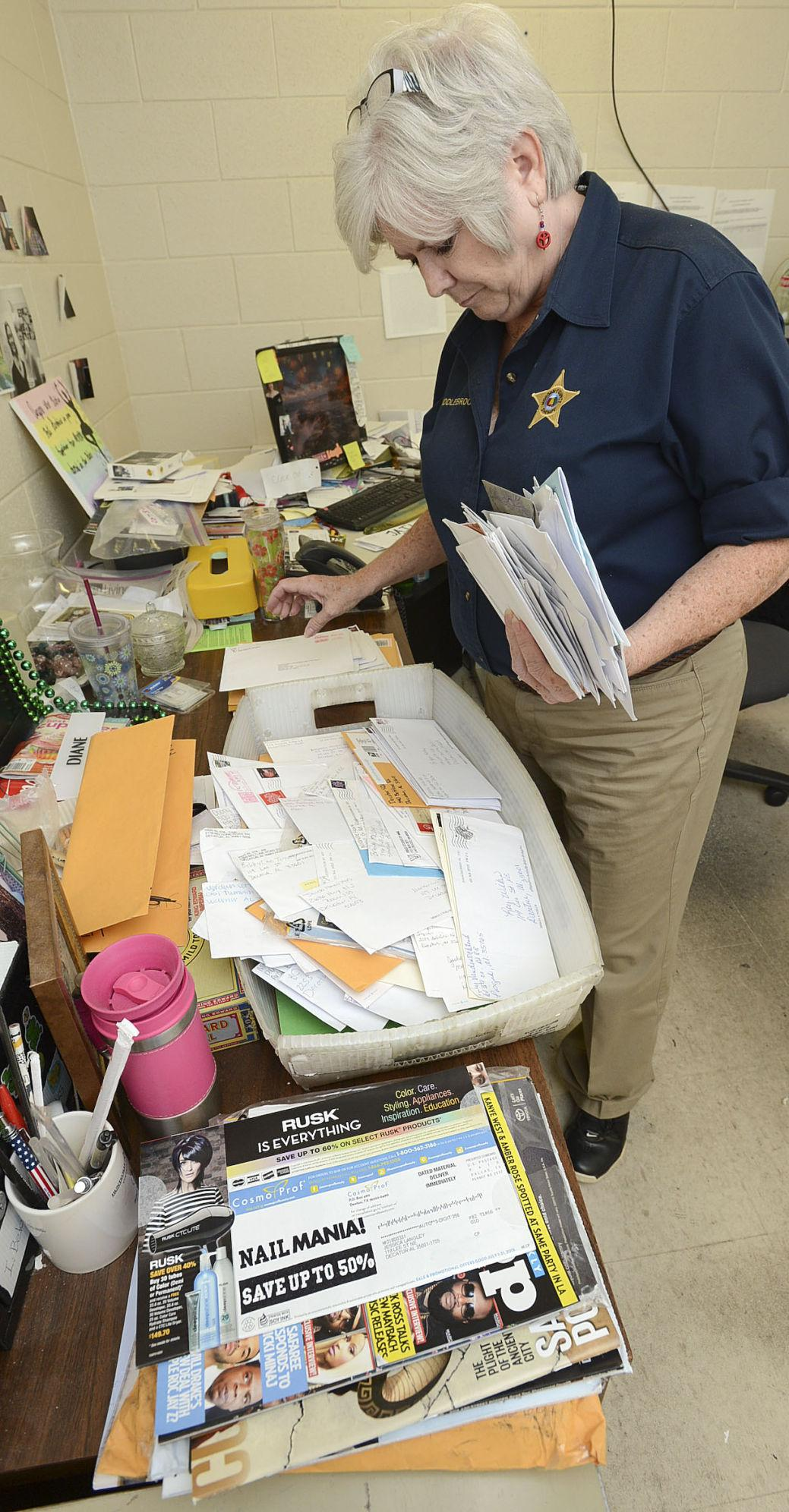 New policy prohibits inmates from receiving mail in