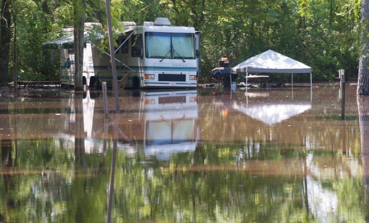 Flooding At Point Mallard Campground Decaturdaily Com