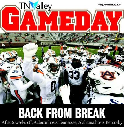 Gamday cover for Nov. 20, 2020