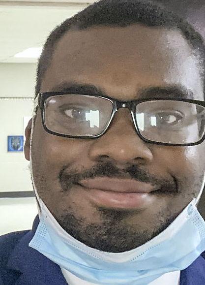 Aaron Jamal Kennedy, a new music teacher at Oak Park elementary.