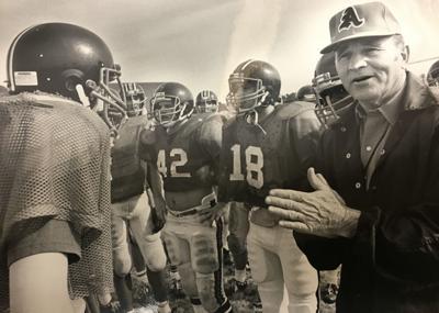 Tom Calvin coaching Austin