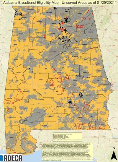 Alabama Broadband Map