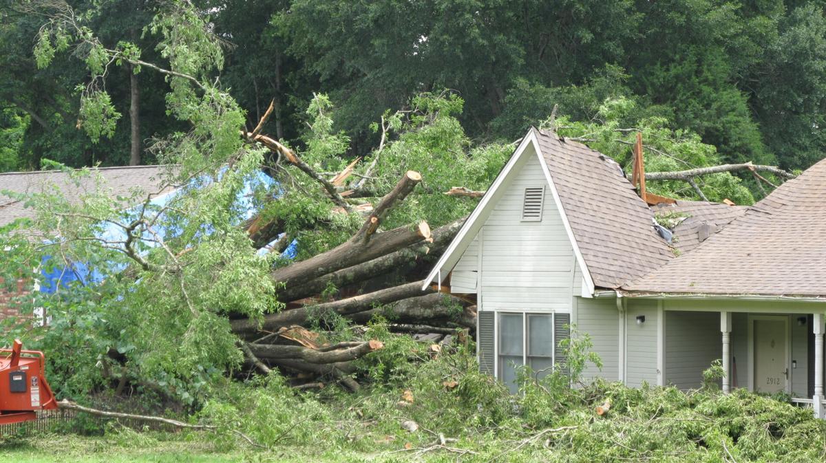 June 12 storm damage in Decatur