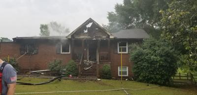 Athens house fire