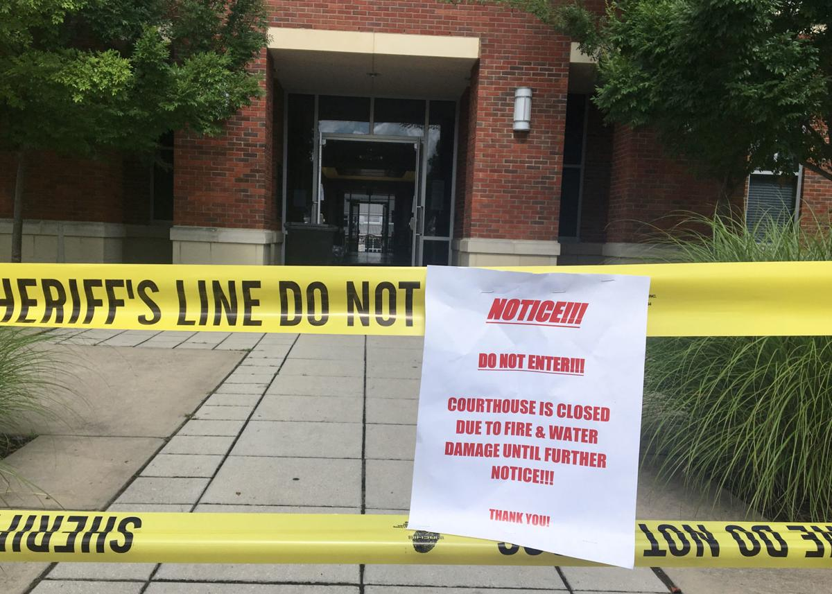 Lawrence Commission Action Means Courthouse Repair Could