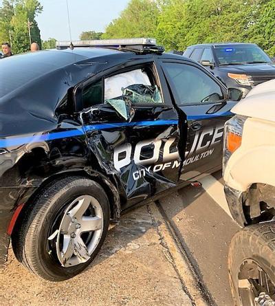 Moulton police car