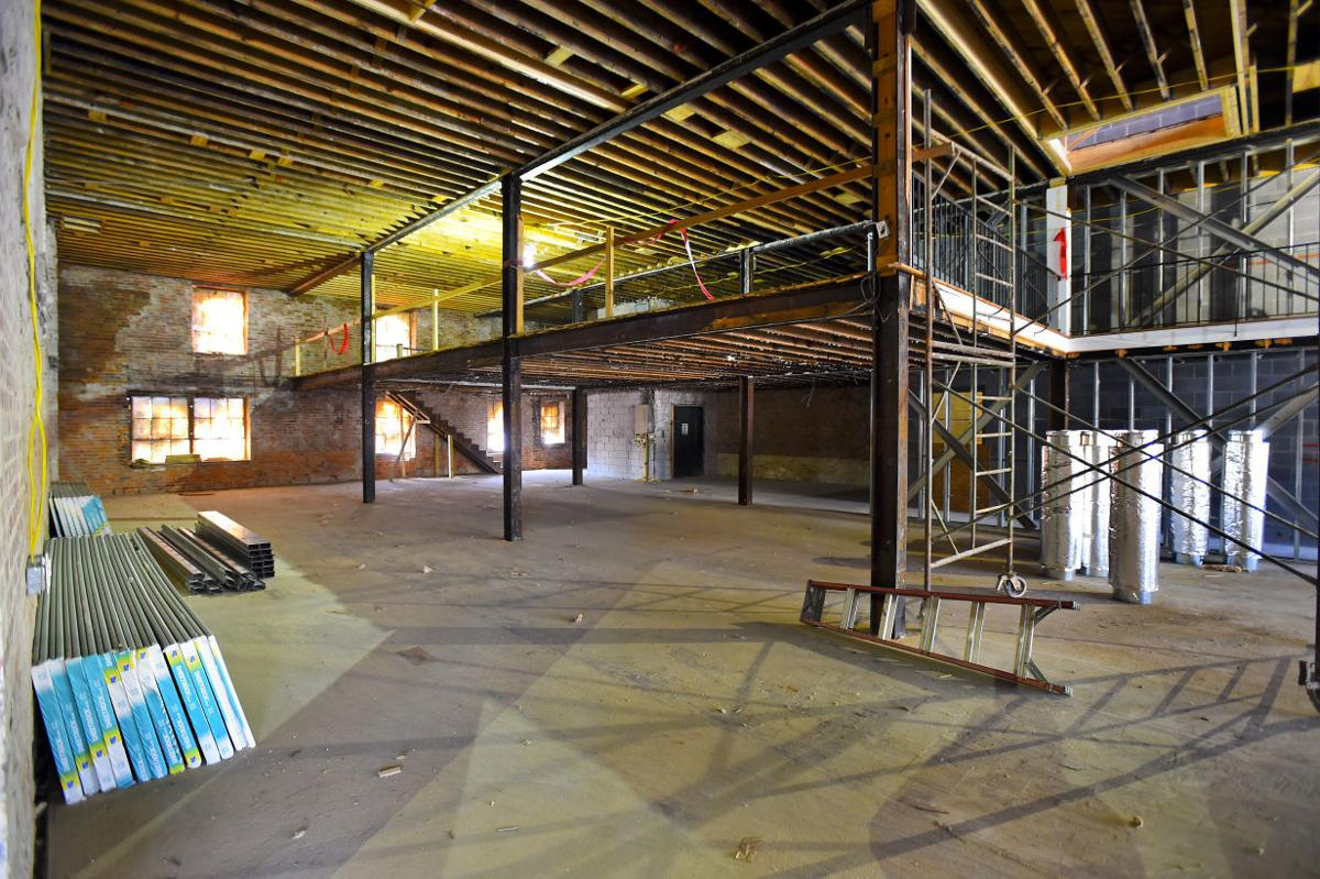 Work moves forward on second avenue loft apartments for Furniture 4 less decatur al