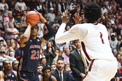 Auburn basketball Isaac Okoro