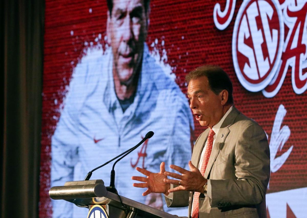 SEC Media Days Football