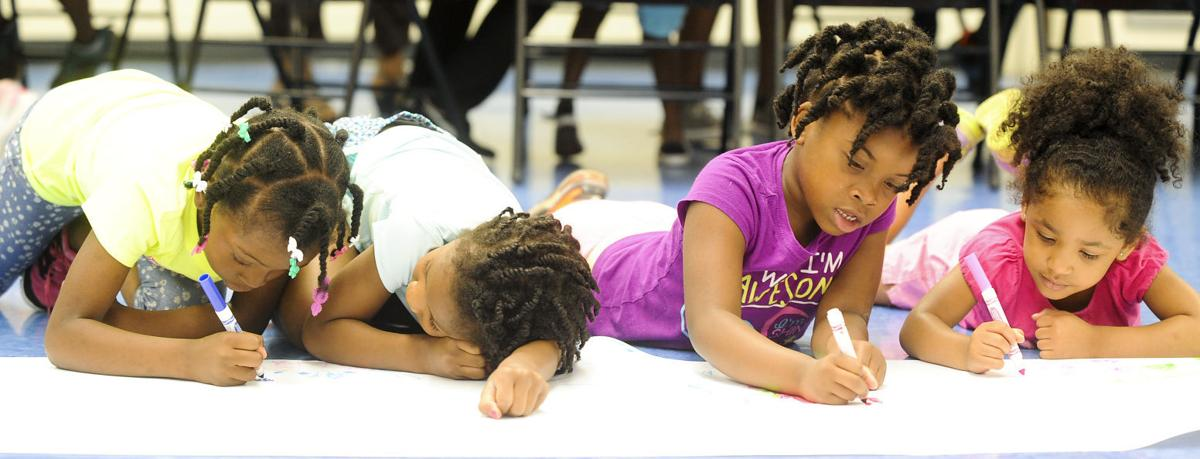 Dys camp provides safe environment for kids during the - Carrie matthews swimming pool decatur al ...