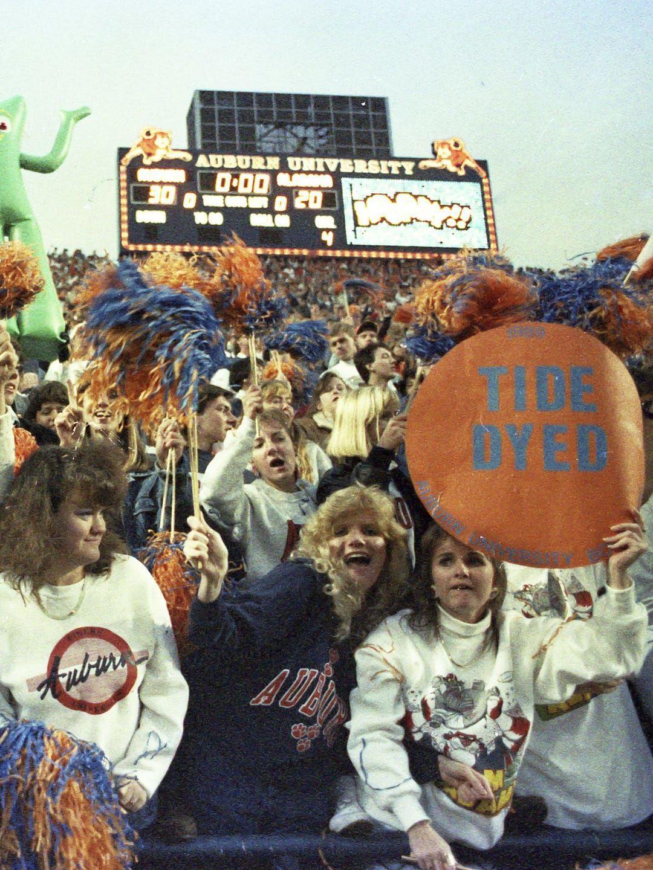 1989 Auburn fans