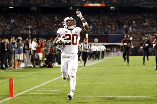 Bryce Love breaks Christian McCaffrey record, on pace for Barry Sanders