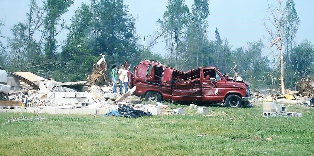guzman family red van