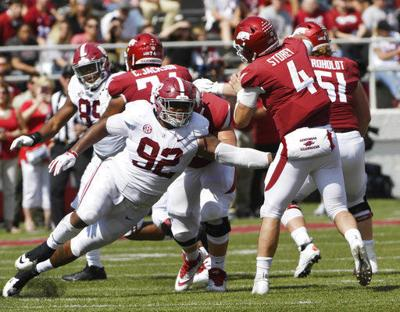 Alabama's Quinnen Williams a dominant force on D-line (copy)